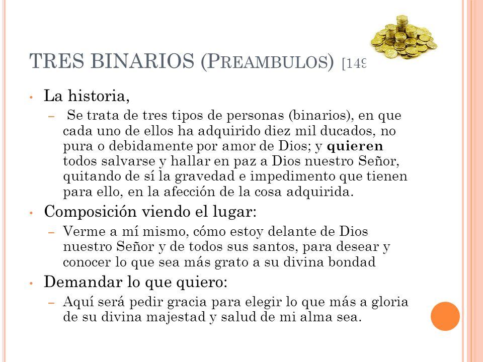 TRES BINARIOS (Preambulos) [149]